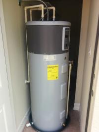 heat pump hot water heater installation Indianapolis